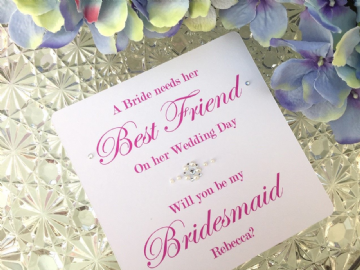 Will You Be My Bridesmaid Card?